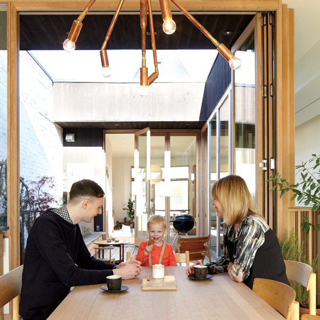 Great Spaces: a starkly beautiful haven above a furniture shop in the Junction