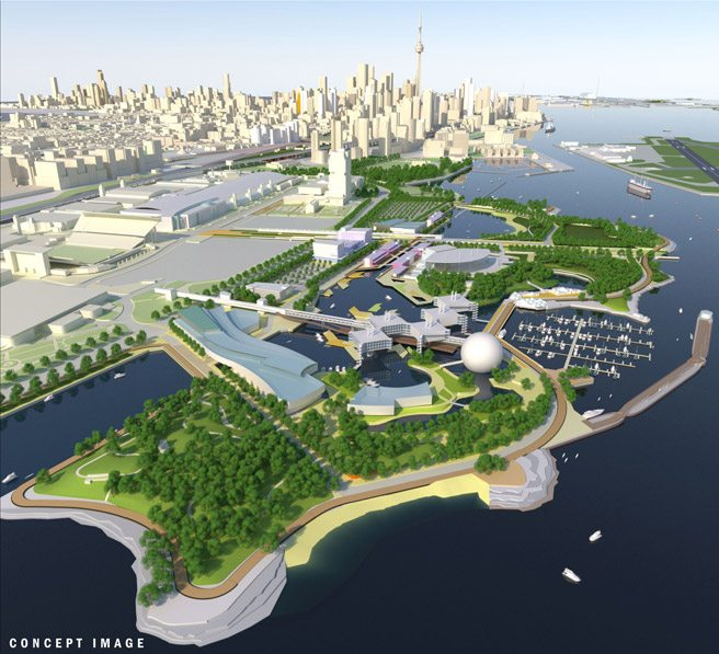 Here's what Queen's Park wants Ontario Place to look like, post-redevelopment