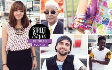 Street Style: Dundas Square brings a diverse crowd of people watchers, performers and nine to fivers