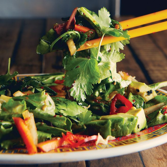 Recipe: how to make the avocado-cilantro slaw from Ossington snack bar Oddseoul
