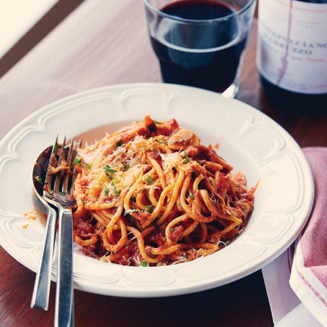 Recipe: Campagnolo chef Craig Harding's incomparable spaghetti all'amatriciana