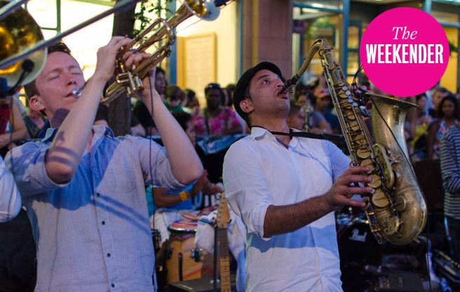 The Beaches Jazz Festival returns this weekend. (Image: Chris Brooker/Flickr)