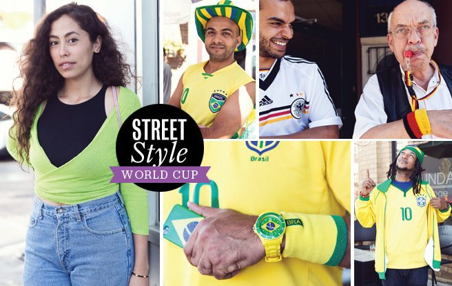 Street Style: Brazilian fans show their pride, despite a rough loss