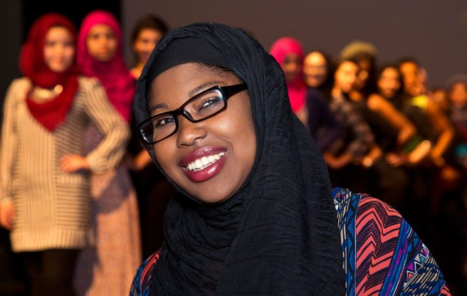 "Q&A: Nateka Pitter, the Muslim designer who's making ""modest fashion"" happen"