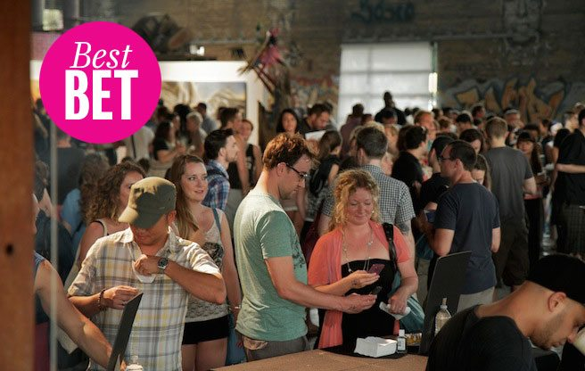 Snack on the asphalt at TRES, La Carnita's annual parking-lot party