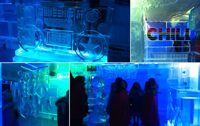 What it's like to spend Saturday night in a nightclub made entirely of ice