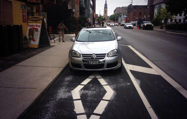Everybody hates Adelaide Street's new bike lane