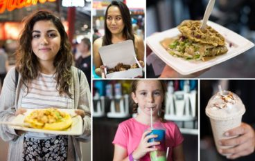 Why are you eating that? (and other questions that came up inside the CNE food pavilion)