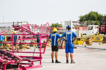 How do you build a roller coaster at the CNE?