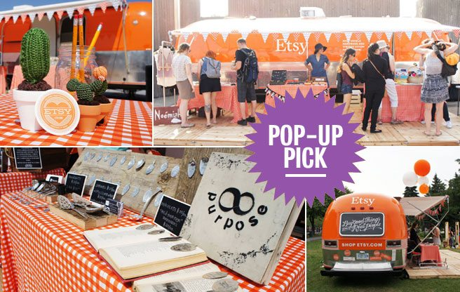 Pop-Up Pick: Etsy's roving trailer arrives in Toronto with pretty crafts, indie bands and food trucks