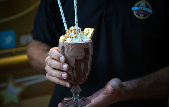 This is what a $77 milkshake looks like