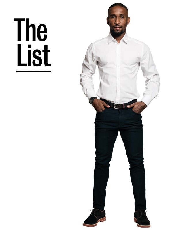 Ten things Jermain Defoe can't live without