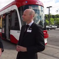 Watch Andy Byford talk about the lesser-known features of Toronto's new streetcars