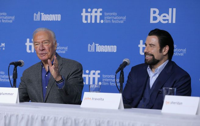 Christopher Plummer steals the show at <i>The Forger</i> press conference, because of course he does