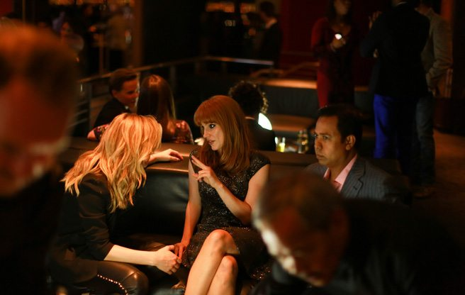 Jessica Chastain, Denzel Washington and Chloë Grace Moretz zoom up the CN Tower to mingle on high
