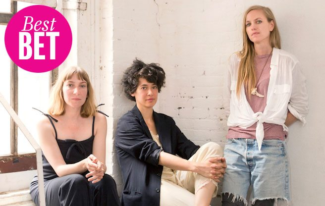 From left: Sheila Heti, Leanne Shapton and Heidi Julavits, editors of Women In Clothes. (Image: Gus Powell)