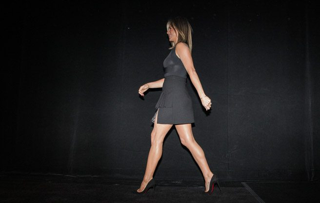 Jennifer Aniston reinvigorates tired TIFF crowds at the <em>Cake</em> premiere