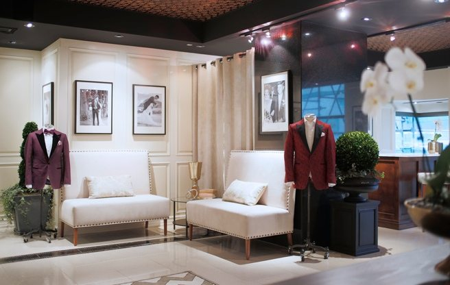 Garrison Bespoke has a new grooms-only boutique in the King Edward Hotel