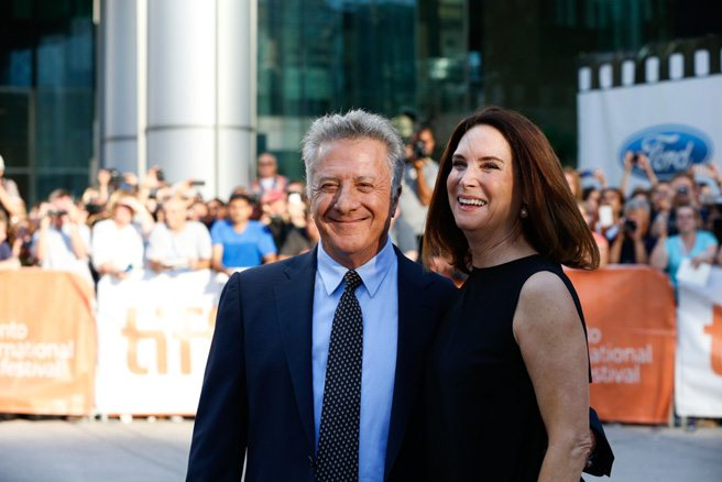 Dustin Hoffman's arrival is heralded by hallelujahs at <em>Boychoir</em>'s debut