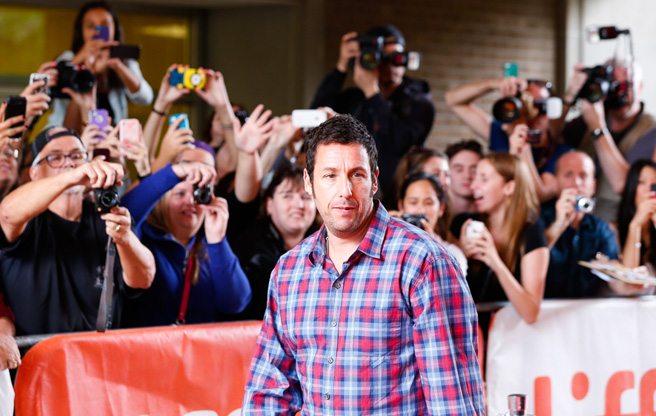 Adam Sandler talks Rob Ford at <i>Men, Women & Children</i> red carpet