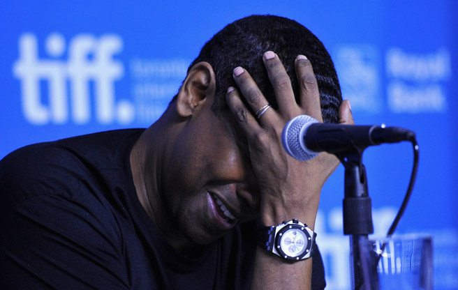"""Denzel Washington, star of many action films: """"I don't know what an action film is"""""""