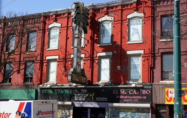 The El Mocambo is close to being sold, and its days are probably numbered