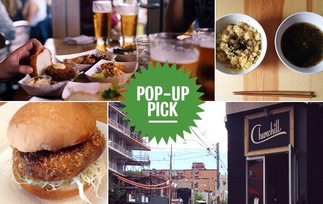 Pop-Up Pick: eat fried-ramen sandwiches and teriyaki pie on Dundas West