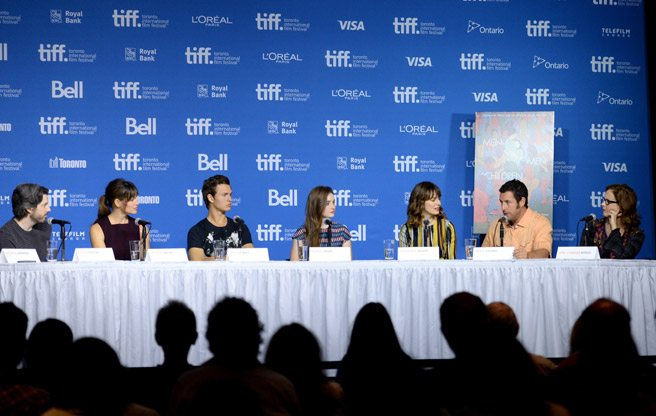 Jason Reitman, Adam Sandler and Jennifer Garner talk about today's youth, or social media, or something