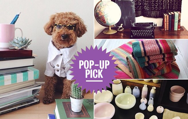 Pop-Up Pick: shop mid-century antiques, handmade accessories and chic vintage apparel at The Post Market