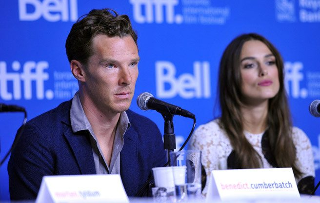 Benedict Cumberbatch humbly admits that he is not a genius
