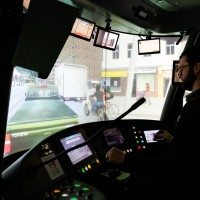 The TTC's streetcar simulator