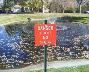 Dear Urban Diplomat: how do I keep my neighbours' kids off our soon-to-be frozen pond?