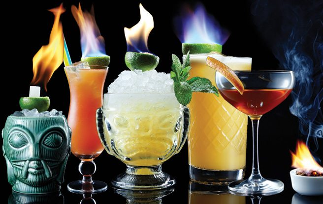 Cocktails On Fire: the city's best flaming beverages