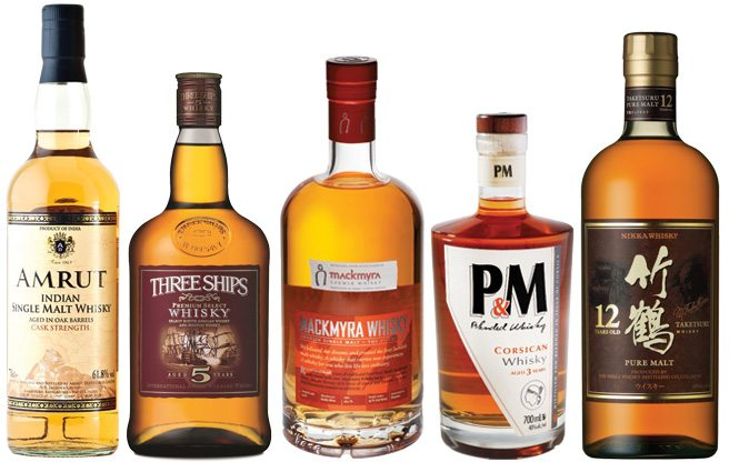 Globe-Trotting Whiskies: fermented grain mashes from everywhere but Scotland