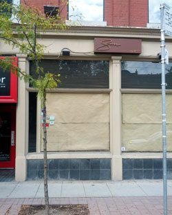 Swish by Han is closed; a new restaurant from the owners of Woods is moving in