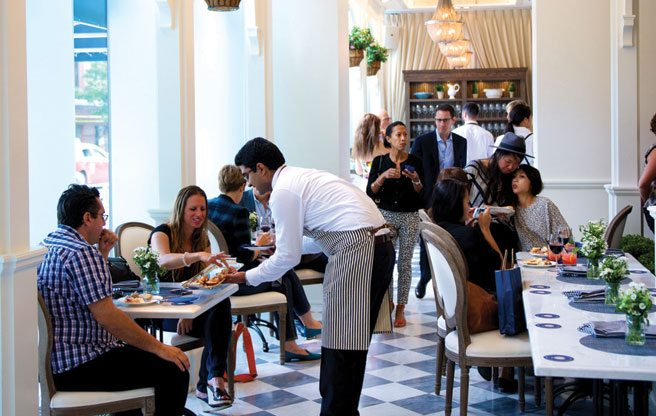 Review: Colette Grand Café is expensive, conservative and mostly good