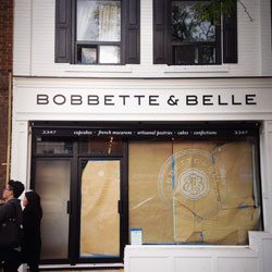 Bobbette and Belle's pretty pastries are heading uptown