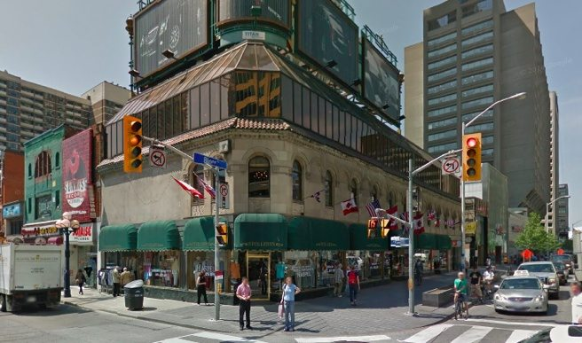 It's definitely luxury condos (and possibly a Bloomingdale's) for the Stollerys building at One Bloor