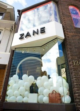 Queen West accessories boutique Zane has expanded into Yorkville