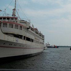 Captain John's restaurant boat is back on the market