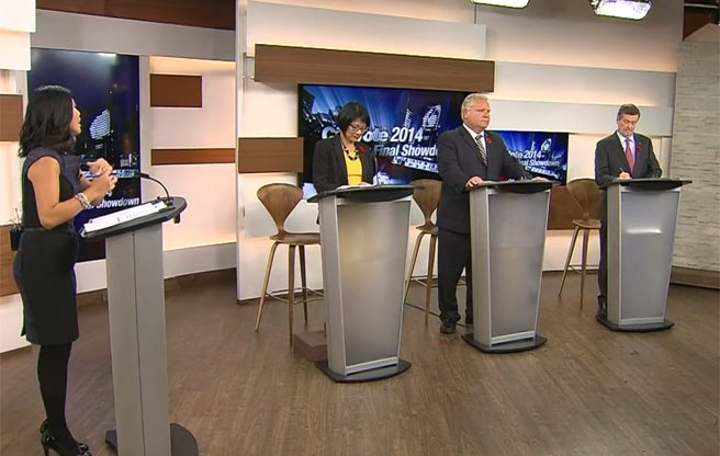 Ten fact-checked statements from Thursday's mayoral debate