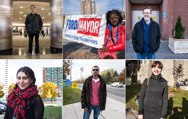 Torontonians from every walk of life tell us who they voted for, and why