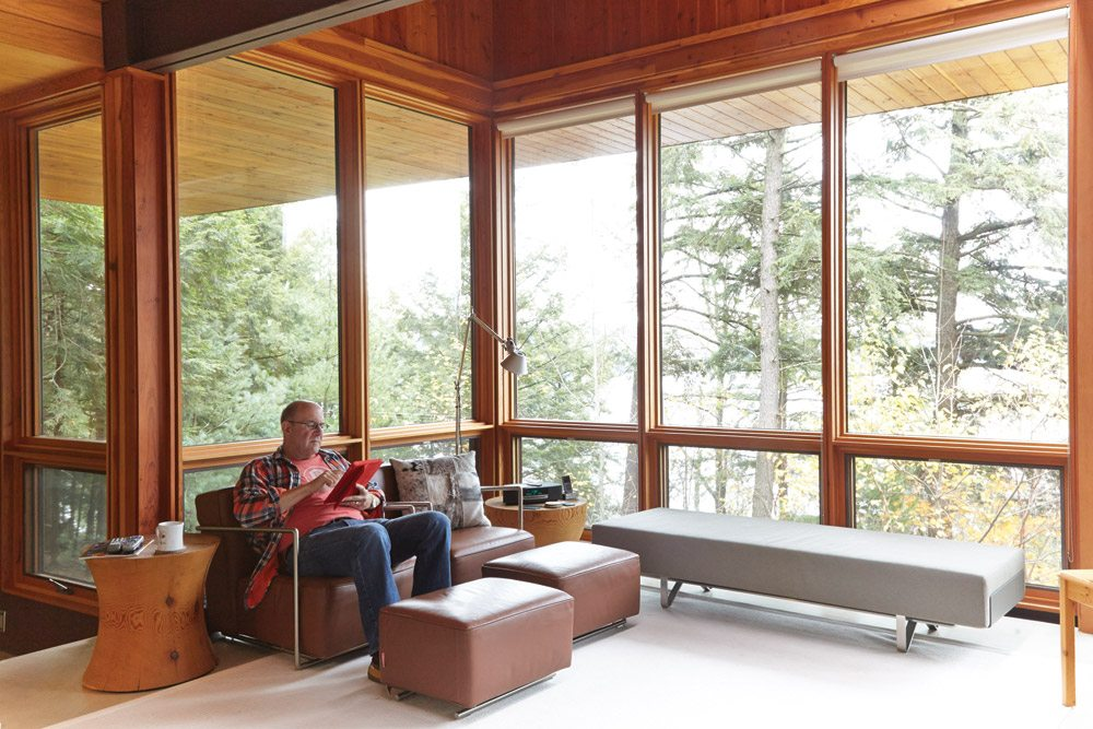 Great Spaces: a Haliburton cottage that turned a die-hard city slicker into an amateur woodsman