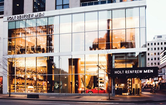 Store Guide: Holt Renfrew Men, the luxe retailer's new guys-only boutique