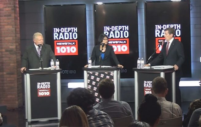 Five things we learned from Newstalk 1010's mayoral debate