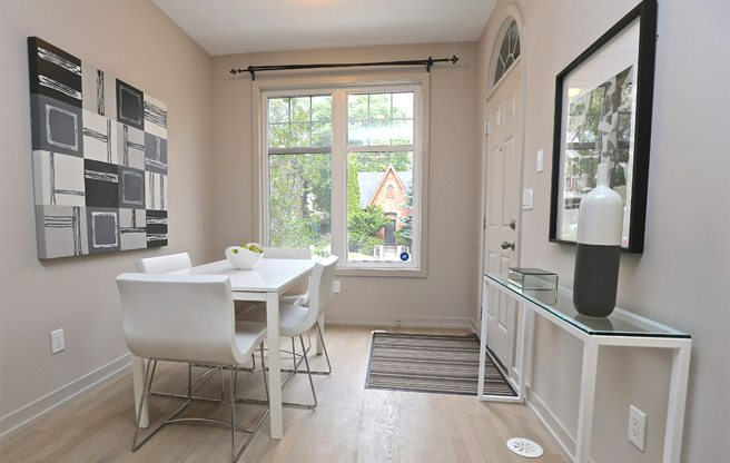 Condo of the Week: $475,000 for a two-storey toehold in trendy Riverdale