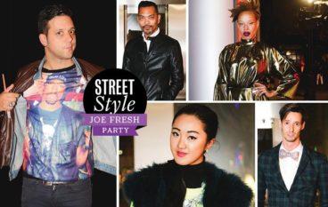 Street Style: Joe Fresh Party