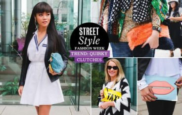 Street Style Trend Report: the Fashion Week crowd makes a statement with quirky clutches