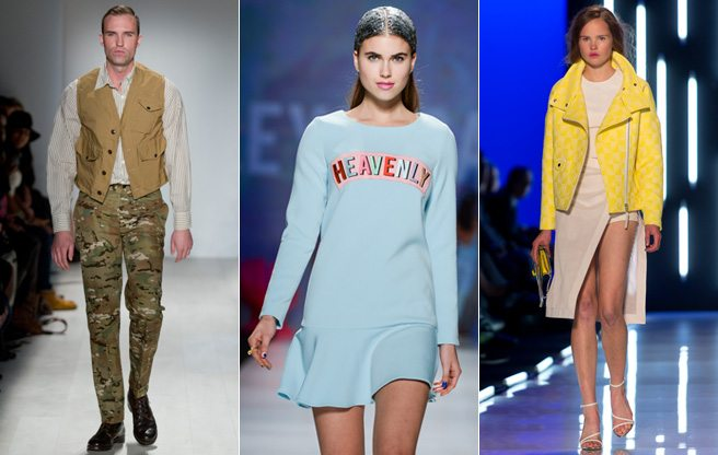 Toronto Fashion Week: the best and most absurd looks from day three (including Mackage and Klaxon)