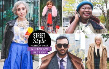 Street Style: Toronto Fashion Week's most stylish hams pose hard outside the tents